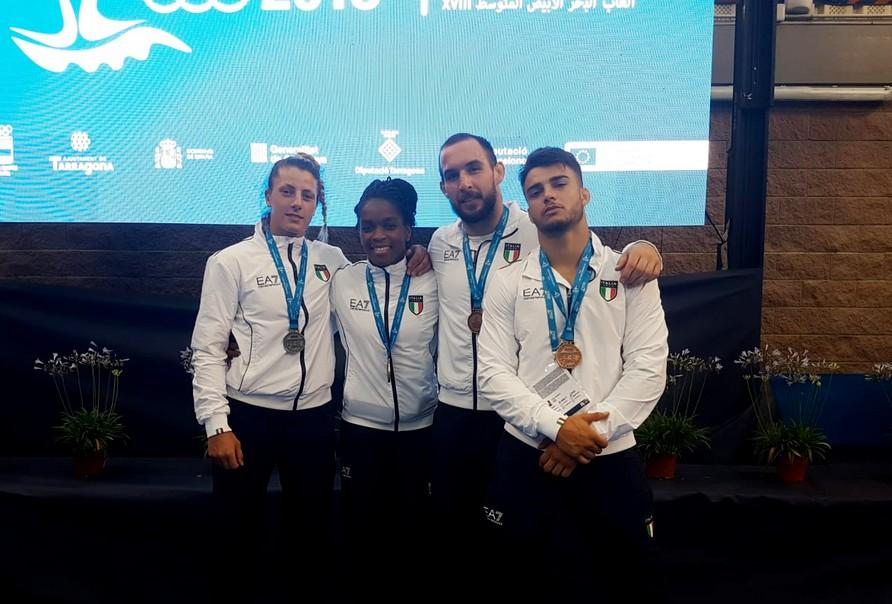 Italia a quota 100 medaglie. Oro Gwend, argento Paissoni, Basile e Mungai di bronzo
