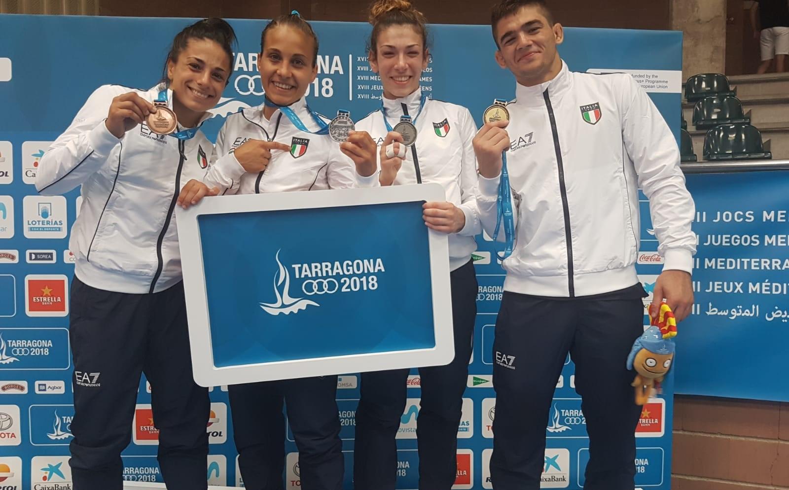 Waza-Ari d'oro per Manuel Lombardo. Giuffrida e Boi d'argento, bronzo Milani