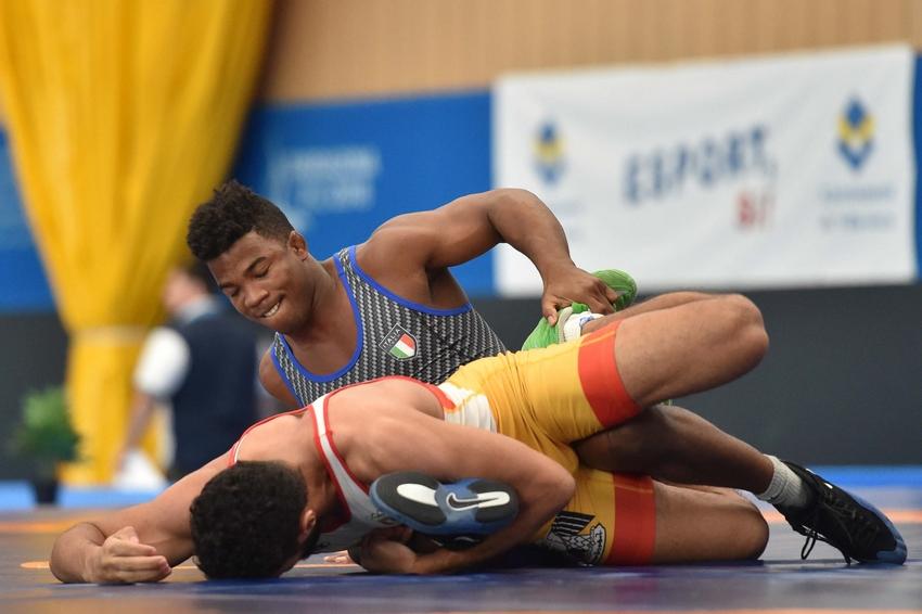 Frank Chamizo da padrone: vince l'oro nei -74 kg. Iannattoni argento nei 97 kg.