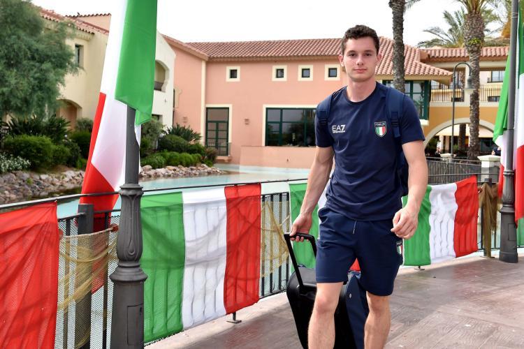 Filippo Tortu arriva al Villaggio Atleti